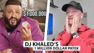 Justin reagiert auf 1.000.000$ Uhr von DJ Khaled.. | Reaktion