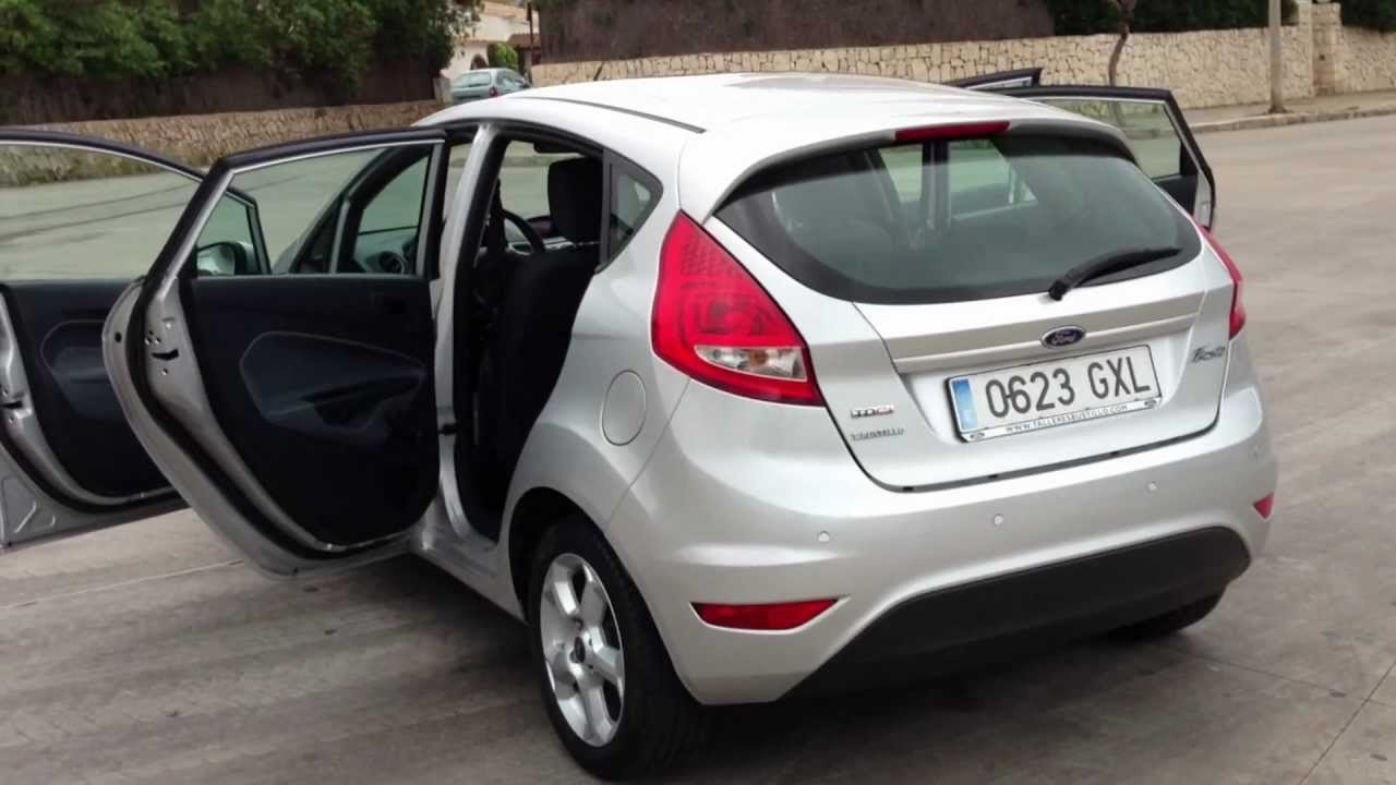 2010 ford fiesta 1 4 tdci trend 5dr lhd spanish registered for sale in spain youtube. Black Bedroom Furniture Sets. Home Design Ideas
