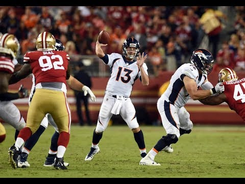 Trevor Siemian 2017 Preseason Highlights