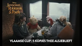 Janneman Robinson & Poeh | Vlaamse Clip : 5 cups of tea | Disney BE