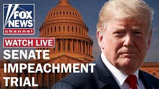 Senate impeachment trial of President Trump Day 1