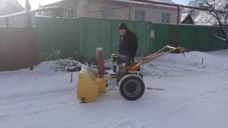 Как сделать снегоуборочную машину самому