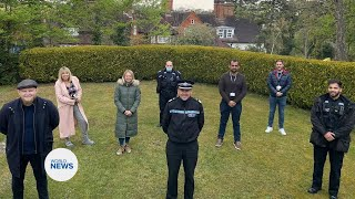 Surrey Police Officers fast in Ramadan with Khuddam UK