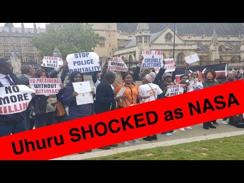 JUBILEE OVERPOWERED  BY NASA SUPPORTERS IN A FACE OFF DUEL  IN LONDON  UK