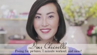 Dear Chriselle- Posing for pictures, 7 minute Workout, Getting dressed in the morning Thumbnail