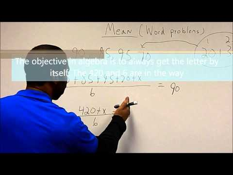 "OIC of Oklahoma County: Never Scared Mathematics ""Mean,Median, Mode"""