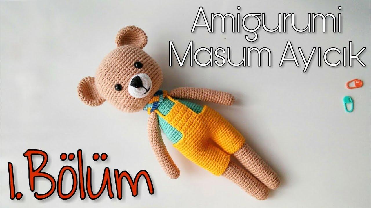 Amigurumi Crochet Teddy Bear (Sevimli Ayı) Pattern Yapılışı | 720x1280