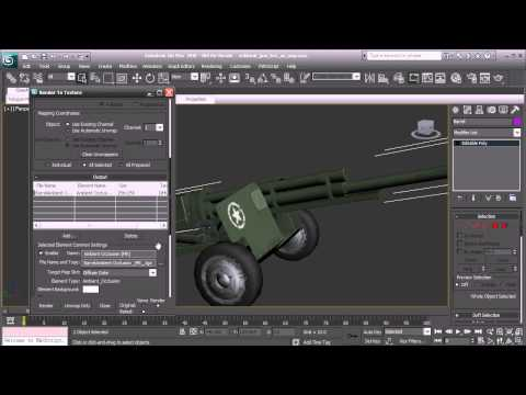 Ask DT: 3ds Max - How Can We Render An Ambient Occlusion Map