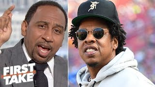 Who cares about Jay-Z's music being played at Dolphins practice? - Stephen A. | First Take