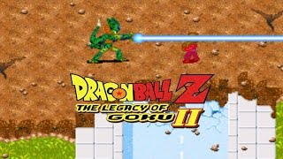 dragon ball z legacy of goku 2 piccolo vs imperfect cell