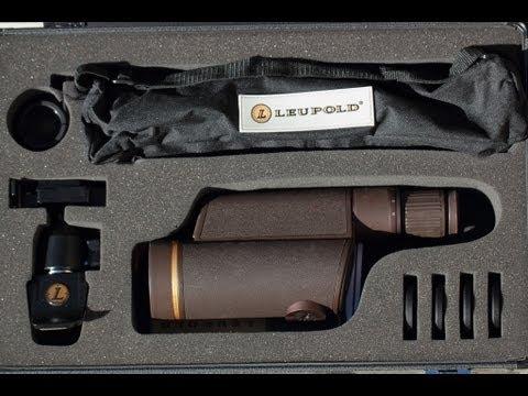 Leupold Spotting Scope  Tactical HD KIT GOLDEN RING 12-40X60MM