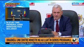 Liviu Dragnea, după ședința CEx: Am luat act de anunţul primului-ministru că îşi va prezenta