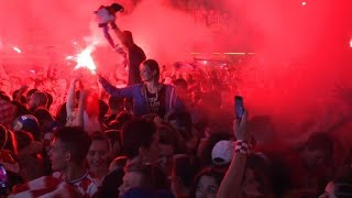 Gambar cover Zagreb erupts into celebration after historic semifinal win