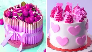 Top 10 Yummy Colorful Cake Recipes  So Yummy Colorful Cake Decorating Ideas  Extreme Cake Video