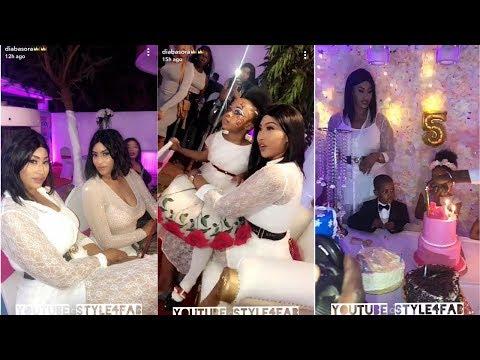 Diaba sora fête d'anniversaire de la princesse avec comme invité IBA one