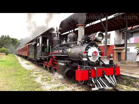 Trem turístico São João Del Rei Tiradentes 2019 tomada 7