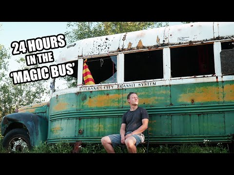 Into the Wild | Exploring the Real Abandoned Bus