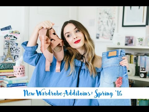 New Spring Wardrobe Additions! | What Olivia Did