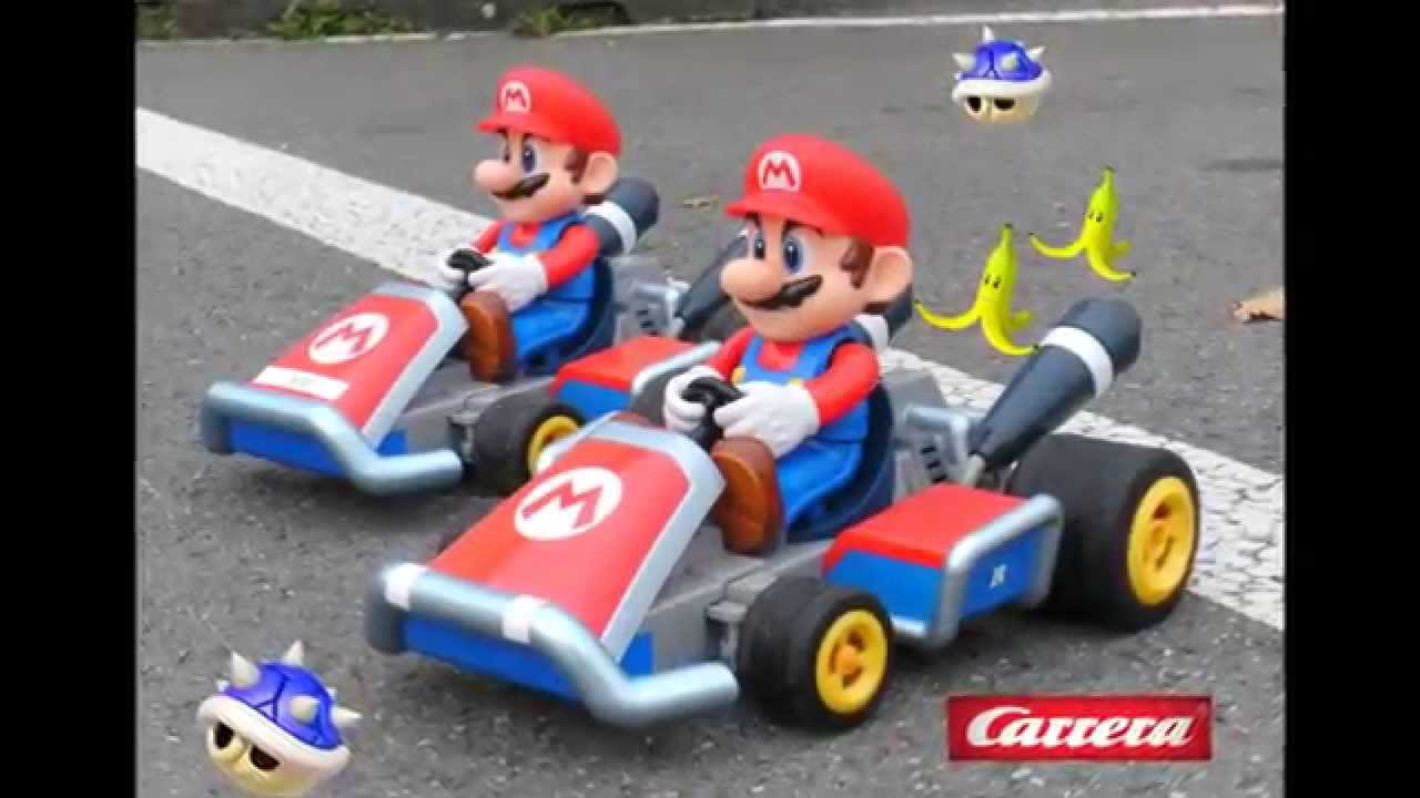 carrera rc 1 16 mario kart 7 youtube. Black Bedroom Furniture Sets. Home Design Ideas