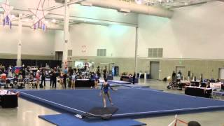 Gambar cover Emily Carey - Northeast Gymnastics Academy - Floor - 2016 Region 7 Regional Championships