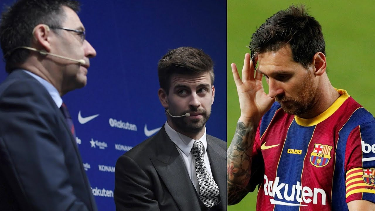 Gerard Pique BLASTS Bartomeu over Messi's situation, scandals & bad decisions