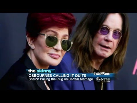 Ozzy and Sharon Osbourne Split | ABC News