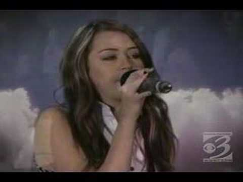 Miley Cyrus-I Miss You live on stage