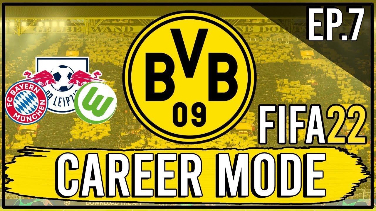 Download FIFA 22 | Realistic Borussia Dortmund Career Mode | Episode 7 | Massive Triple Header! (Next-Gen)