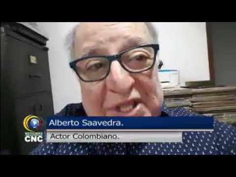 EL ACTOR ALBERTO SAAVEDRA EN NOTICIAS CNC
