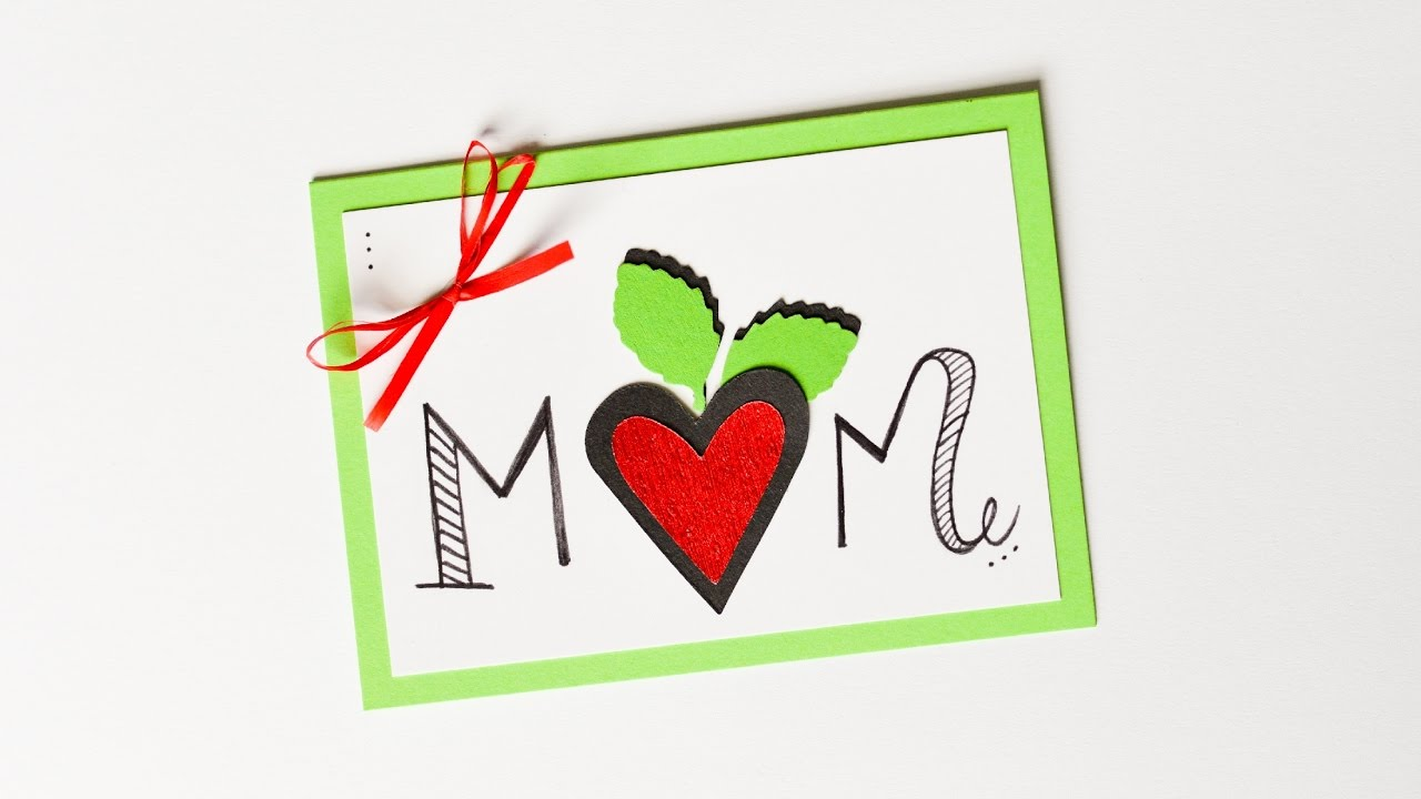 How To Make Mother 39 S Day Card Step By Step Diy