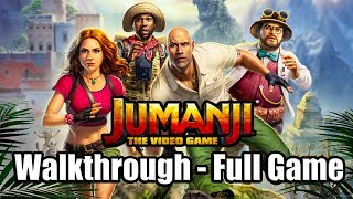 JUMANJI THE VIDEO GAME Gameplay Walkthrough Part 1 FULL GAME PS4 - No Commentary