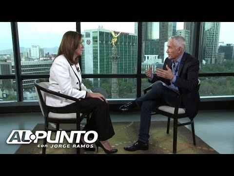 Margarita Zavala habla con Jorge Ramos sobre Felipe Calderón, el matrimonio gay y firmas falsas
