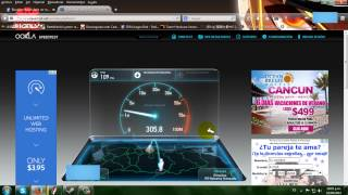 ABA CANTV 10MB ADSL Venezuela