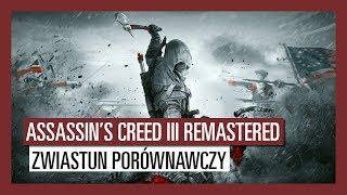 Assassin's Creed III Remastered: Zwiastun porównawczy