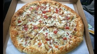 Pizza Hut (garlic Parmesan) Chicken Bacon Tomato Pizza Review