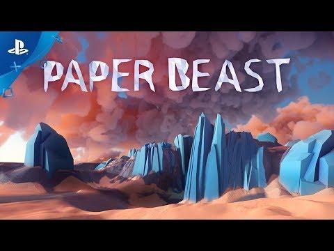 Paper Beast - новая игра от создателя Another World
