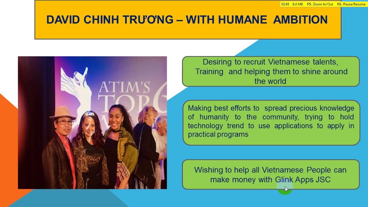 glink Apps Vietnam Mr David Chinh Truong - Day of Return to homeland
