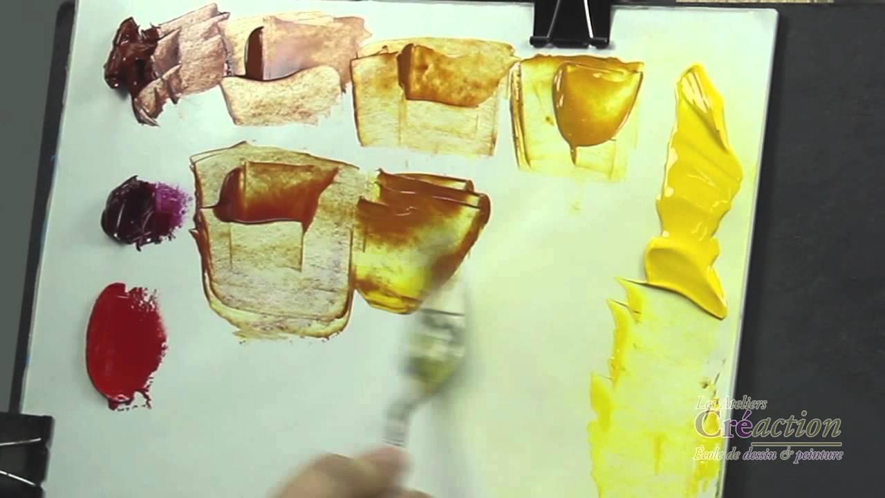 Comment Fabriquer Des Oranges Cours De Peinture Gratuit Mathieu Robert