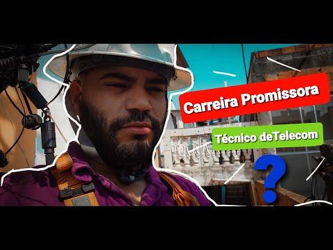 TÉCNICO DE TELECOM É UMA CARREIRA PROMISSORA? / E FIZ INSTALAÇÃO FACIL VEJA COMO FOI !