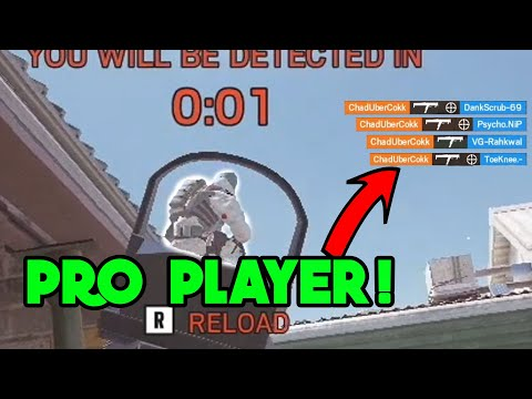 Playing Against A PRO PLAYER - Rainbow Six Siege