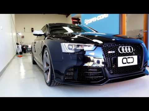 Audi RS5 - 40 hour detail, paint correction, wheel repair, and Opti-Coat Pro Plus