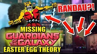 Randau - James Gunn's Missing Guardians of the Galaxy Easter Egg Theory | MasterTainment