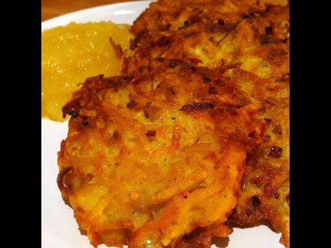 ich-koche-heute:-reibeplätzchen/reibekuchen-mit-selbstgemachtem-apfelmus-(rezept)