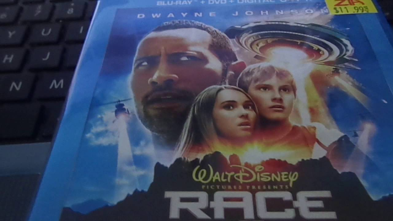 Download Race to Witch to Mountain 2009 Remake kinda Blu ray unboxing