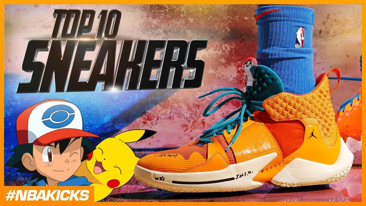 Top 10 Sneakers in the NBA #NBAKicks - Week 23