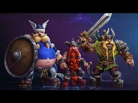 видео: heroes of the storm - Потерявшиеся Викинги | lost vikings