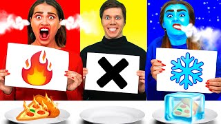 Hot, Cold or Nothing Challenge 뜨거운,감기 또는 아무것도 도전  Ideas 4 Fun 아이디어 4 재미