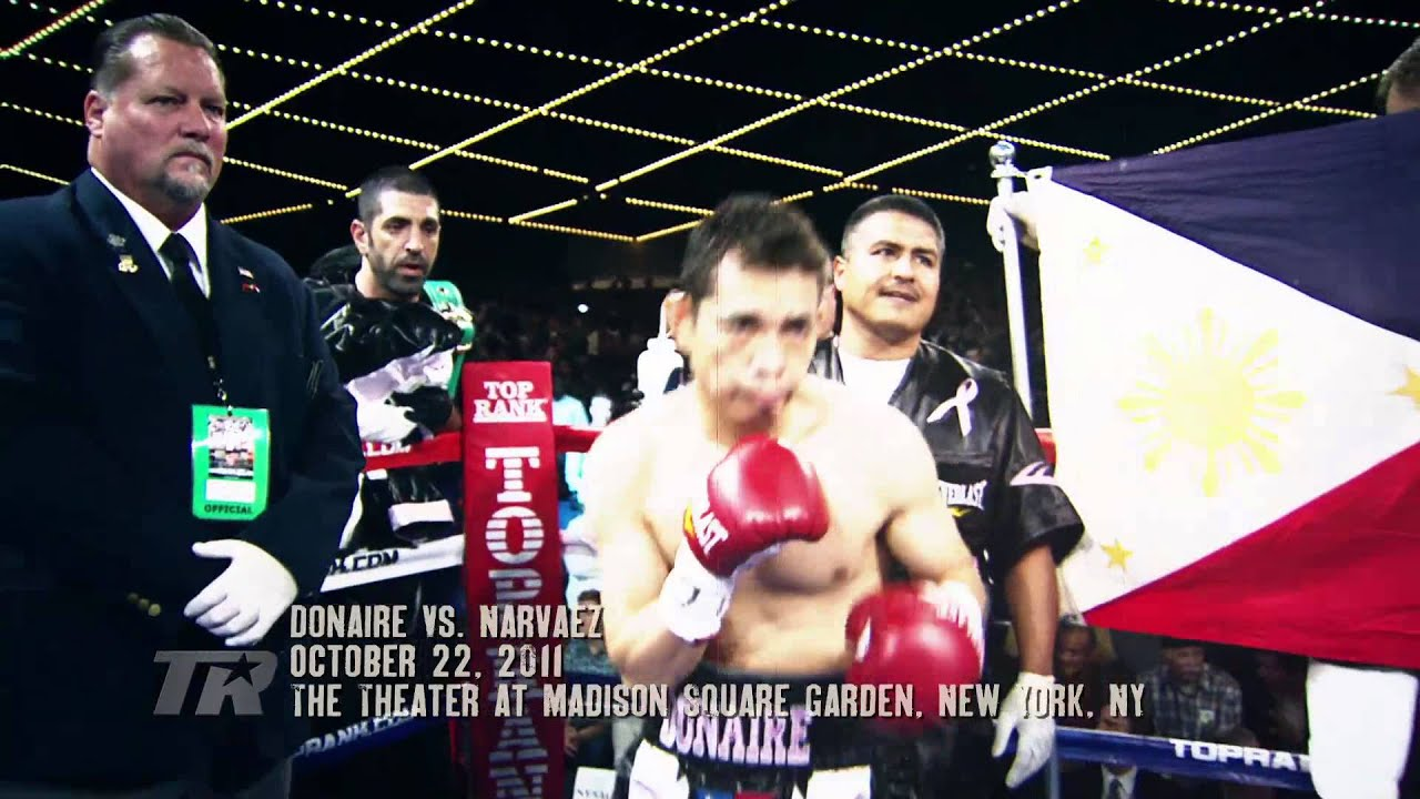 Highlights of Donaire's Biggest Wins in 2012