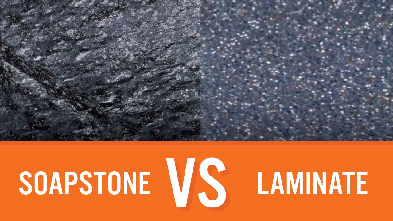 Soapstone Vs Laminate | Countertop Comparison