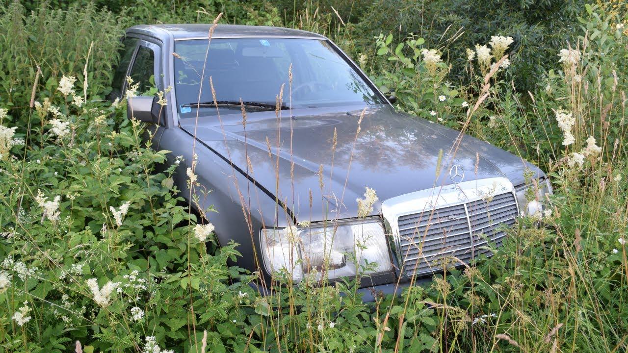 Тази кола няма аналог! Вижте от къде я извадиха, след 1 година там и запали все едно вчера е оставен
